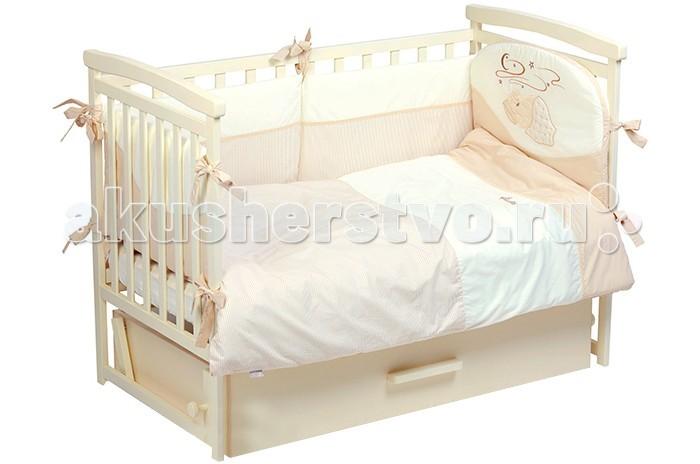 Комплект для кроватки Putti Starry night 120x60 (6 предметов)
