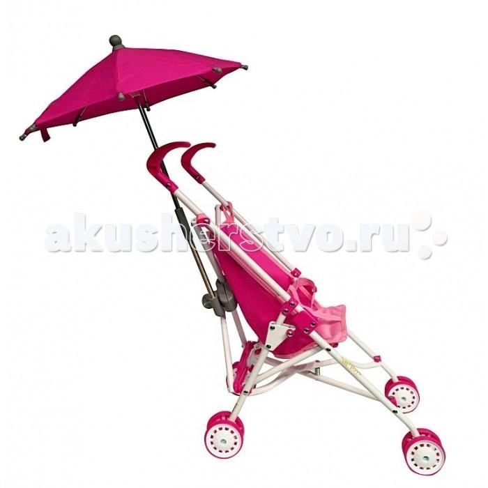 Коляска для куклы R-Toys 6100U6100UЭта очень простая, но такая необходимая каждой маме модель 6100U - летняя прогулочная коляска с зонтиком.   Ее оценит любая юная мамочка. Она очень легкая и быстро и просто складывается вместе с зонтиком.   Интересная находка - зонтик от солнца и дождя на раме коляски. Он легко складывается и не мешает в поездке. Но когда понадобится, он незаменим - открывается и укроет куклу от дождя и солнца.   Очень легкая коляска идеально подойдет даже для самых маленьких малышей.   Коляски для кукол — непременный атрибут игры в дочки-матери. Коляски для кукол от R-Toys являются маленькими многофункциональными копиями настоящих детских колясок.<br>