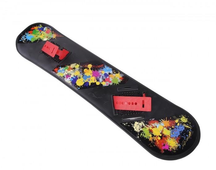 Ледянка R-Toys Детский сноуборд пластиковый с облегченным креплением