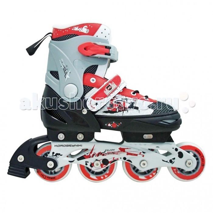 Роликовые коньки R-Toys Коробейники алюминиевая рама