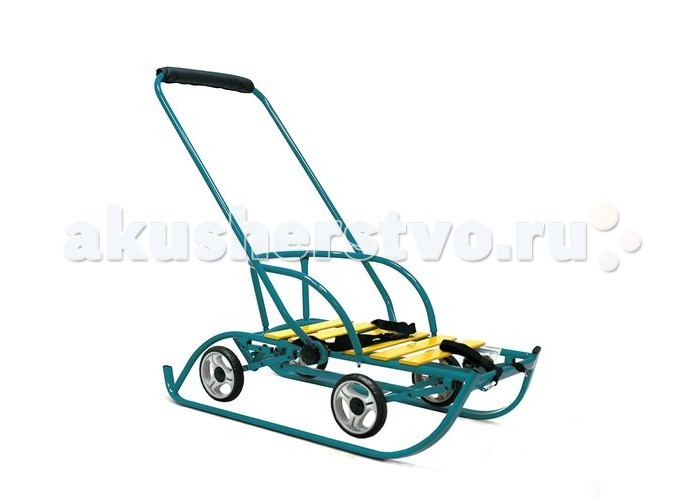 Санки R-Toys Санимобиль на колесах Премиум