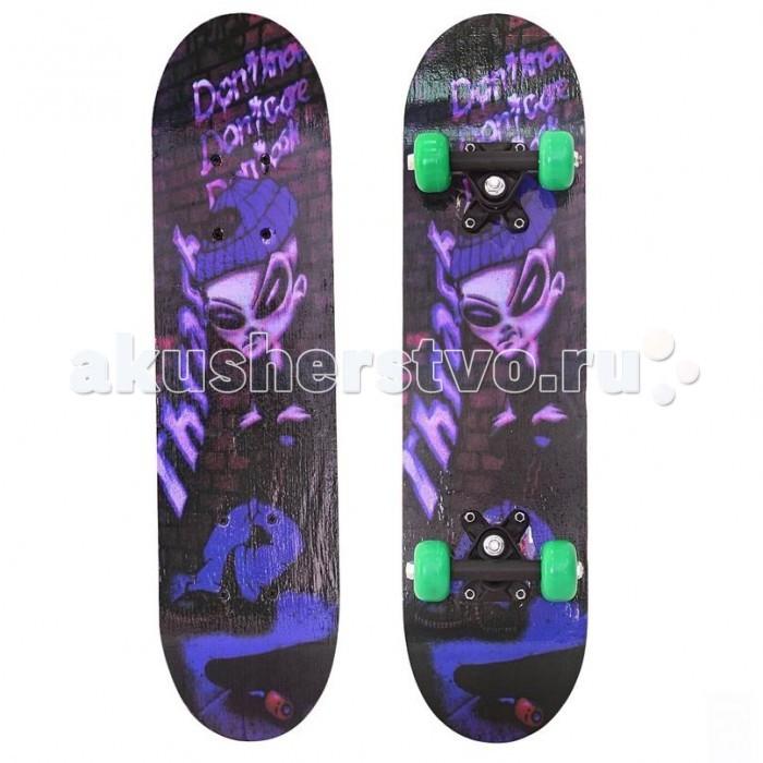 """R-Toys Скейтборд 23"""" 60х15 Пришельцы от Акушерство"""
