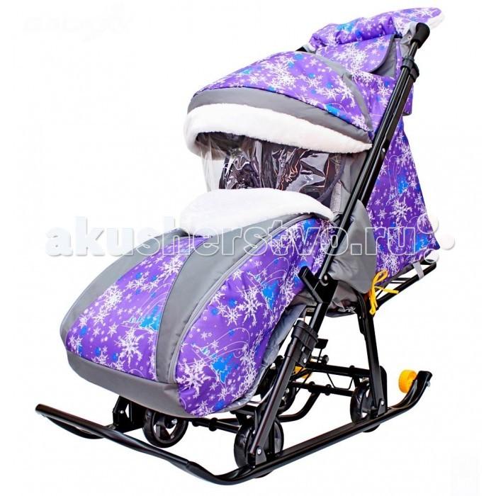 Санки-коляска R-Toys Snow Galaxy Luxe
