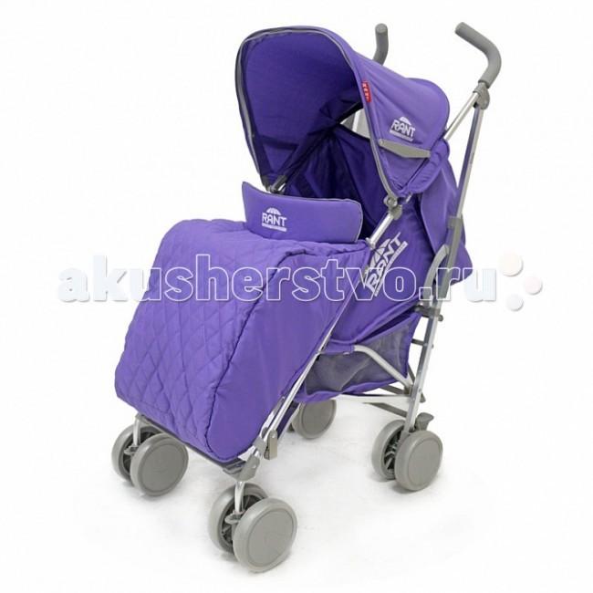 Коляска-трость Рант MollyMollyДетская прогулочная коляска (трость) Molly предназначена для детей с 6 месяцев и до 3-х лет.  Легкая и комфортная коляска в стильном дизайне подходит для ежедневных прогулок с малышом на свежем воздухе, для дальних путешествий или шопинга.  Коляска предоставит маленькому пассажиру наилучшие условия для увлекательных прогулок и изучения окружающего мира. Спинка коляски имеет плавную и многоуровневую регулировку с помощью ремня и опускается до горизонтального положения. Регулируемая подножка удлиняет спальное место, малыш может с комфортом и удобством поспать во время прогулки.    От солнца и ветра малыша защитит увеличенный капюшон, который опускается до поручня. В капюшоне предусмотрено смотровое  окошко, которое позволит вам наблюдать за малышом, когда он опущен. На задней стенке капюшона расположен удобный карман, который позволит взять с собой на прогулку всё необходимое для ребенка. Накидка на ножки и дождевик даст возможность гулять в любую погоду. Москитная сетка обеспечит защиту малыша от прямых солнечных лучей, пыли, назойливых насекомых, тополиного пуха и посторонних взглядов.  Передний поручень легко снимается полностью, либо его можно откинуть на одну сторону, чтобы посадить ребенка в коляску. Обеспечат безопасность малыша в коляске  регулируемые 5-ти точечные ремни безопасности с мягкими плечевыми накладками.   Для удобства родителей предусмотрен подстаканник на раме для бутылочки и вместительная корзина для детских принадлежностей или покупок.  Благодаря алюминиевому основанию, коляска имеет лёгкий вес, удобна для транспортировки в общественном транспорте или автомобиле. Колёсная база коляски -  всего 48 сантиметров, позволяет легко проехать во все лифты и дверные проемы подъездов.  Коляска снабжена четырьмя парами сдвоенных пластиковых колёс. Передние поворотные колеса с возможностью фиксации делают эту коляску очень маневренной в управлении, и обеспечивают комфортную езду.  Коляска Molly быстро и компактно складывается по