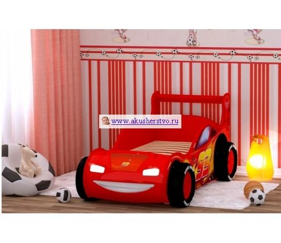 Детская кроватка Red-River машина 3D - Red River машина 3D
