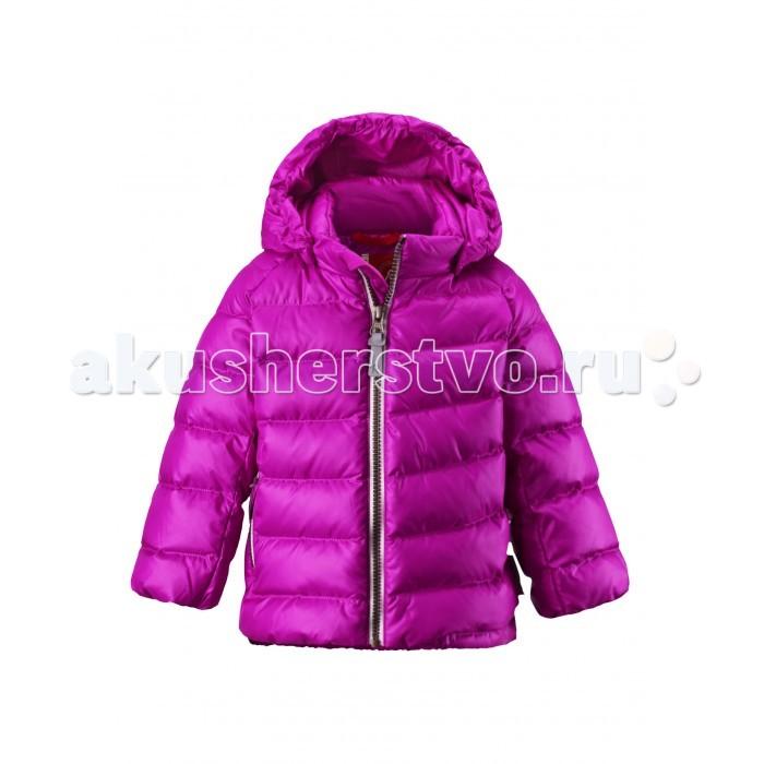 Reima Пуховая куртка MinstПуховая куртка MinstЭтот милый пуховик для малышей привлекает своим стилем! Пуховик сделан из ветронепроницаемого и пропускающего воздух материала, который также отталкивает воду и грязь. Съёмный капюшон защищает маленькие ушки от холодного ветра и безопасен во время игр на улице.  Если закреплённый кнопками капюшон зацепится за что-нибудь, он легко отстегнётся. Однотонный образ становится более интересным, благодаря весёлой асимметричной строчке и слегка прилегающему по фигуре силуэту. Этот пуховик великолепно подходит для холодной городской поздней осени.  Характеристики: Пуховая куртка для малышей Водоотталкивающий, ветронепроницаемый, дышащий и грязеотталкивающий материал Гладкая подкладка из полиэстра В качестве утеплителя использованы пух и перо (60%/40%) Безопасный, съемный капюшон Эластичные подол и манжеты Карман на молнии Безопасные светоотражающие детали Температурный режим до -30 градусов  Состав: Верх - 100% Полиэстер, подкладка - 100% полиэстер, утеплитель - 60% утиный пух, 40% утиное перо.  Уход: Стирать по отдельности, вывернув наизнанку. Застегнуть молнии и липучки. Стирать моющим средством, не содержащим отбеливающие вещества. Полоскать без специального средства. Во избежание изменения цвета изделие необходимо вынуть из стиральной машинки незамедлительно после окончания программы стирки. Барабанное сушение при низкой температуре с 3 теннисными мячиками. Выверните изделие наизнанку в середине сушки.<br>
