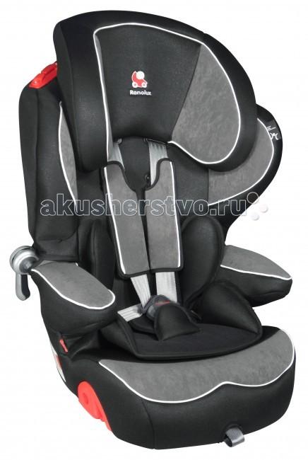 Автокресло Renolux Quick ConfortQuick ConfortДетское автокресло Renolux Quick Confort группы 1/2/3 предназначено для детей от 9 месяцев до 12 лет. Обладая мягкой, толстой подкладкой из полиуретановой пены, кресло обеспечивает максимальный комфорт ребенку во время передвижения в автомобиле. Кресло изготовлено по технологии, которая отвечает строгим требованиям европейского стандарта безопасности ECE R44/03.   Основным преимуществом данной технологии является применение высокоплотного полиуретана и прочной стали, что обеспечивает дополнительную защиту ребенка во время столкновения. Креслице легко подстроить под растущего малыша, подголовник регулируется по ширине и высоте, а внутренние ремни обладают центральной регулировочной системой. Журнал «Mother and Baby» (лучший в Великобритании) присудил креслу Quick Confort премию «Лучшее юниорское кресло» по результатам опросов мам.  Особенности: Универсальное и практичное кресло Комфортная и толстая подкладка (около 8 см) из полиуретановой пены За счет регулируемого подголовника кресло настраивается по высоте и ширине Технология натяжения штатного ремня безопасности позволяет правильно закрепить кресло в салоне автомобиля До 4-х лет ребенок пристегивается внутренними ремнями безопасности, а после 4 лет – уже с помощью штатных ремней безопасности Плечевые накладки ремней безопасности с антискользящим покрытием Система центральной регулировки всех внутренних ремней безопасности Регулируемые по высоте внутренние пятиточечные ремни безопасности Устанавливается по ходу движения автомобиля Приятное на ощупь внешнее покрытие снимается и стирается Соответствует требованиям последнего европейского стандарта безопасности ECE-R44/04  Вес: 8.8 кг<br>