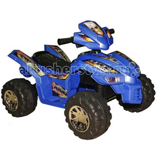 Электромобиль Rich Toys H-baby D068H-baby D068Электромобиль Rich Toys H-baby D068 (Квадроцикл) предназначен для деток старше 3 лет. Он очень понравится крохе, ведь он удобный и стильный. Широкие колеса с прорезиненной накладкой позволят кататься по любой дороге.  Характеристики: Возраст: с 3 лет Максимальная нагрузка: 25 кг Может ехать вперед или назад Ударопрочный полипропиленовый корпус Краска защищает от царапин Широкое, комфортное сиденье Фары светятся при движении Руль-башня Ножное управление Широкие колеса из пластика Резиновая вставка на колесах Максимальная скорость: 4 км/ч Аккумулятор 6В/7АхЧ Устройство подзарядки: Вход: 220В/50Гц / Выход: постоянный ток 6В/700мA Время подзарядки: 8 – 12 ч Время непрерывной работы: 1.5 ч Предохранитель 20 А<br>
