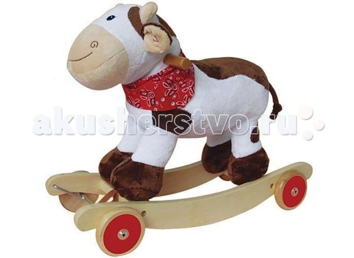 Каталка-игрушка Rich Toys Корова JR266 каталка