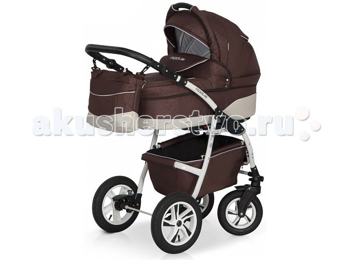 Коляска Riko Modus 2 в 1Modus 2 в 1Коляска Riko Modus 2 в 1  Универсальная детская коляска MODUS 2 в 1 от Польского производителя Riko предназначена для детей с рождения и до 3-х лет.  В комплект коляски входит спальная люлька для новорожденного и прогулочный блок для подросшего малыша, которые можно устанавливать по ходу движения или против хода движения. Люлька коляски  комфортная и удобная, сделана внутри из 100 % хлопка. Дно люльки – жесткое, это очень важно для правильного формирования позвоночника новорожденного малыша.  Прогулочное сидение легко устанавливается на раму, имеет пятиточечные ремни безопасности, съемный бампер, регулируемое положение спинки. Для удобства родителей предусмотрены регулировка высоты ручки, корзина для покупок и сумка для мамы.  Колеса надувные, камерные, с современной системой амортизации. Передние поворотные колеса с фиксатором делают эту модель коляски маневренной и легкоуправляемой. Задние колеса, обеспечивают хорошую проходимость и позволяют преодолевать любые препятствия по бездорожью на прогуле.   Характеристики:  Люлька Непромокаемая тканевая люлька с жестким дном  Регулируемый по высоте подголовник  Вентилируемое смотровое окошко в капюшоне  Удобная ручка для переноски, расположенная  на капюшоне  Регулируемый капюшон  Внутренняя вкладка выполнена из 100% хлопка, легко снимается для стирки  Матрац  для новорожденного  Возможность установки люльки в 2 положениях (лицом к маме, или лицом по направлению движения коляски).   Размеры внутренние люльки:  длина 76 см  ширина 37 см  высота 20 см  вес: 4.73 кг  Прогулочный блок: 3 положения регулировки спинки, в том числе до горизонтального;  Регулируемая подножка;  Регулируемый капюшон;  Пятиточечные ремни безопасности с мягкими плечевыми накладками;  Съемный бампер;  Практичная накидка на ножки;  Возможность установки прогулочного блока в 2 положениях (лицом к маме, или лицом по направлению движения коляски).   Размеры прогулочного блока:  ширина 36 см  длина  84 см  вес: 4.3 кг  Р