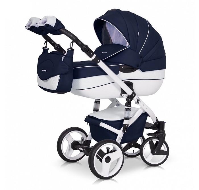 Коляска Riko Orion 2 в 1Orion 2 в 1Коляска Orion RIKO 2 в 1 от Польского производителя RIKO предназначена для детей с рождения и до 3-х лет.  Модная, удобная и функциональная – новая модель в современном, стильном дизайне. Коляска Orion обеспечит вашему малышу самые лучшие условия для увлекательных прогулок и комфортного полноценного сна во время прогулок на свежем воздухе. Ребенок будет прекрасно себя чувствовать в просторной люльке, а комфортное прогулочное сиденье для подросшего ребенка предоставит наилучшие условия для изучения окружающего мира. Эта модель коляски на алюминиевой раме обладает отличной проходимостью за счет легкого хода и надувных колес. Современная система амортизации колес позволяет легко преодолевать любые препятствия на прогулке, и при этом сохраняется мягкость хода, обеспечивая спокойный сон вашего малыша.  Коляска Orion укомплектована просторной и комфортной люлькой, прогулочным блоком, которые легко устанавливаются на раму как по ходу, так и против хода движения, т.е. «лицом к маме». Дизайнеры компании RIKO умело подобрали сочетания тканей и перфорированной Экко кожи. Данная комбинация материалов вызывает интерес даже самого придирчивого покупателя, и выделяет коляску на улице. В люльке коляски Orion используется уникальная конструкция москитных шторок, которая очень удачно вписываться в дизайн коляски.  Дополнительный бонус от производителя – Комплект зимних муфт варежек, которые сохранят в тепле руки мамы при прогулках в холодное время года.  Размеры внутренние люльки: длина: 80см, ширина: 37см, высота: 22см. Вес: 5,11 кг  Размеры сиденья: ширина: 32см, глубина: 25см, высота спинки: 41см, длина подножки: 18см. Вес: 5,8кг.  Вес рамы + прогулочный блок: 16,05 кг. Диапазон регулировки ручки по высоте: 77-120 см от пола<br>