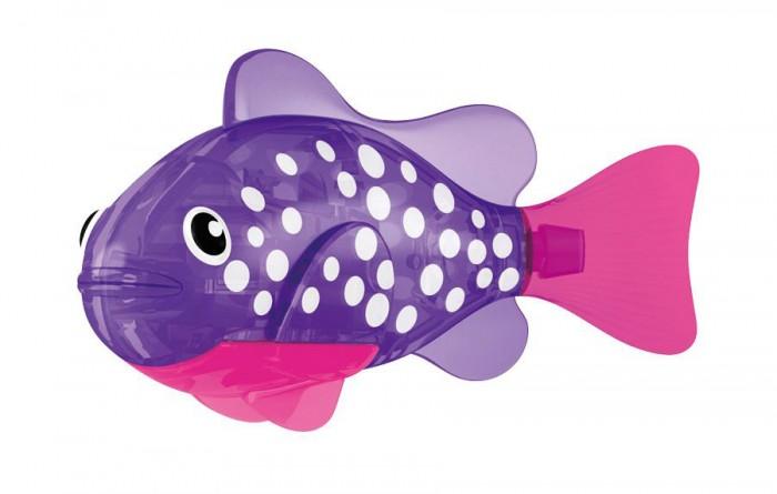 Интерактивная игрушка Robofish Светодиодная РобоРыбкаСветодиодная РобоРыбкаRobofish Светодиодная РобоРыбка - инновационная высокотехнологичная игрушка. Активируется в воде. Имитирует движения и повадки рыбы. Электромагнитный мотор позволяет рыбке двигаться в 5 направлениях. При погружении в аквариум или другую емкость с водой РобоРыбка начинает плавать, опускаясь ко дну и поднимаясь к поверхности воды.   Ваш ребенок мечтает об аквариуме с рыбками, но это очень сложно и требует ухода и внимания? А еще живых рыбок нельзя брать в руки и от них бывает аллергия. Теперь Bы можете порадовать себя и своего малыша, и притом без всяких хлопот! Маленькие дети иногда боятся воды, РобоРыбка прекрасно помогает справиться с этим страхом. РобоРыбка может плавать в любой емкости с водой: в вазе, бокале, аквариуме и даже в ванне вместе с вашим малышом! РобоРыбка – великолепная находка для аквариумов с дорогими растениями!  Но и это еще не все! РобоPыбка LED — светится! Поместите несколько светящихся роборыбок вместе и Вы увидите, как это красиво!  Игрушка работает от двух алкалиновых батареек А76 или RL44, которые входят в комплект (две установлены в игрушку и 2 запасные).<br>