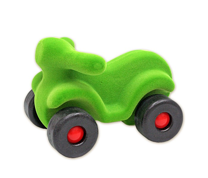 Rubbabu Скутер из натурального каучука с флоковым покрытием 21 смСкутер из натурального каучука с флоковым покрытием 21 смСкутер из натурального каучука с флоковым покрытием 21 см   Rubba-авто – это упругие и в тоже время мягкие бархатистые игрушки различных цветов и размеров, которые знакомят малыша с окружающим миром, способствуют развитию зрительного и тактильного восприятия у ребенка.  Игрушки Rubbabu должны быть у каждого ребенка.<br>