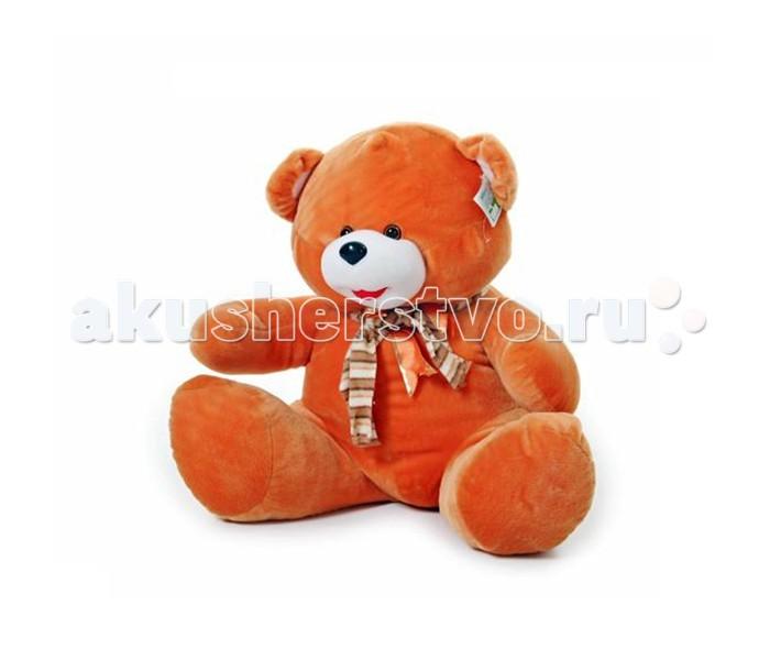 Мягкая игрушка Rudnix Медведь 0048Медведь 0048Плюшевая игрушка от бренда Рудникс представляет собой большого медведя. Мягкая игрушка выполнена из приятной на ощупь ткани, что в совокупности с наполнителем из качественного плюша создает приятные тактильные ощущения.  Медведь выполнен в коричневом цвете с преобладанием легкого горчичного оттенка. На шее у игрушки узлом повязан платок, что добавляет образу игрушки задорности.  Высота игрушки достигает 60 см, поэтому мишка вызовет приятное удивление как у ребенка, так и у девушки, если он станет романтическим подарком.<br>