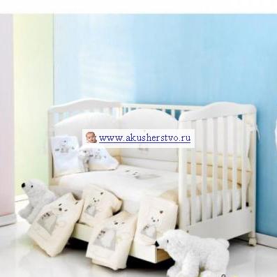 Комплект для кроватки Ruggeri Hello Joy Long (6 предметов)