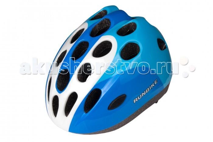 Runbike Защитный шлем RUN53HBЗащитный шлем RUN53HBШлем Runbike детский овальные отверстия.   Для катания на Ранбайке (беговеле), самокате, велосипеде.  регулируется под размер головы удобные ремешки и регулировочное кольцо усиленная структура - технология «pro-inmold» эффективная вентиляция  Размер S(48-52), M(52-56)<br>