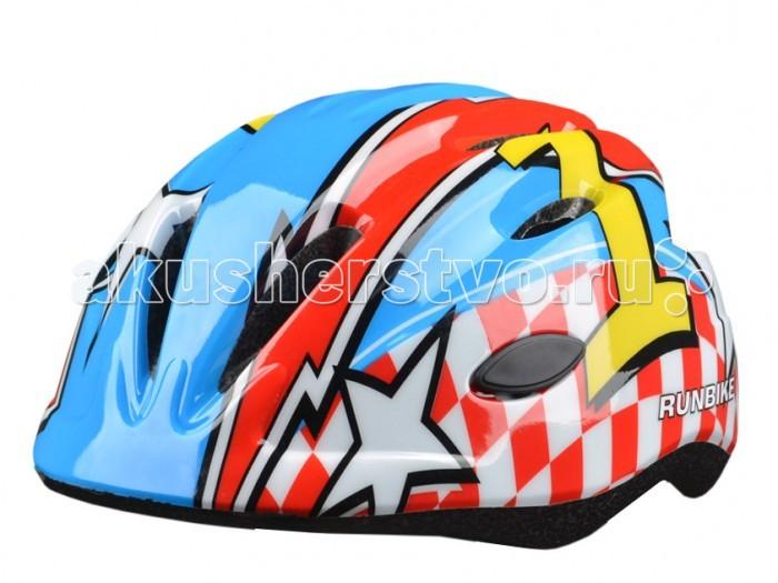 Runbike Защитный шлем RUN63RBЗащитный шлем RUN63RBШлем Runbike детский красный-синий овальные отверстия.   Для катания на Ранбайке (беговеле), самокате, велосипеде.  регулируется под размер головы удобные ремешки и регулировочное кольцо усиленная структура - технология «pro-inmold» эффективная вентиляция  Размер S(48-52), M(52-56)<br>