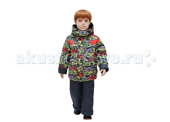 Русланд Комплект утепленный А21-14Комплект утепленный А21-14Утепленный костюм для мальчика из куртки и полукомбинезона.   Куртка с ветрозащитной манжетой на рукавах. Полукомбинезон с высокой грудкой и спинкой и регулируемыми бретелями.  Температурный режим: -15 градусов.  Ткань верх: принц принтованный - 100% полиэстер. Подклад: трикотаж - 100% хлопок, рукава - капрон - 100% полиэстер. Утеплитель: теплофил 100% полиэстер: куртка - 120 гр/м; полукомбинезон - 100 гр/м.  Для изготовления верхней одежды от TM Rusland используются современные прочные материалы, которые обладают высокой степенью износостойкости. Ткани пропитаны специальными составами, обеспечивающими ветронепроницаемость и непромокаемость одежды. Все материалы, используемые для производства детских изделий, абсолютно безопасны для здоровья и жизни детей.<br>