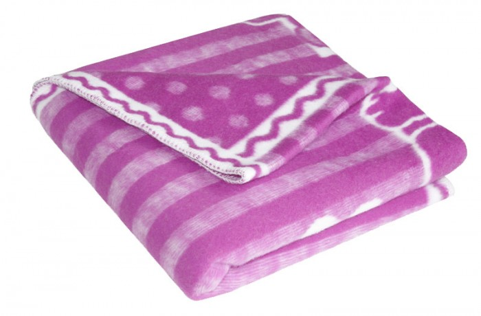 Одеяло Ермолино детское байковое 100х140 см