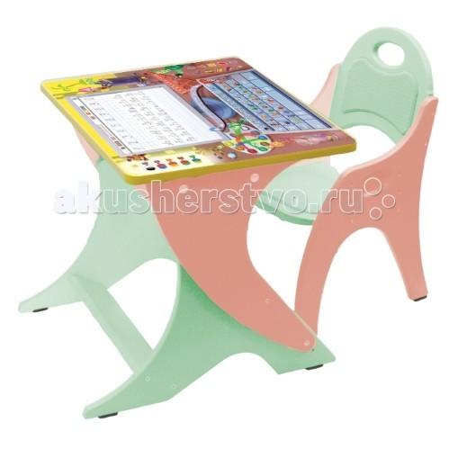 Описание:тип: стол назначение: для девочек материал: лдсп, толщина 16 мм покрытие: безопасные и стойкие эмали функционал: 2 выдвижных ящика рисунок: есть метод нанесения: uf-печать размер: 600 х стол advesta molly (white)