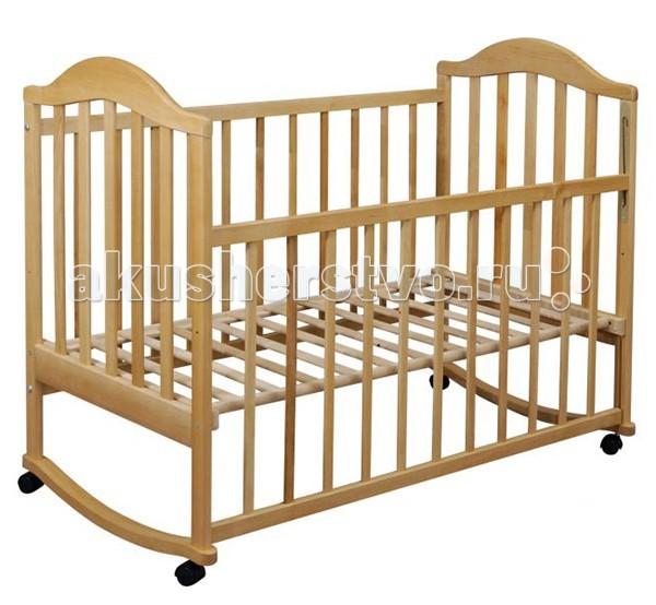 Детская кроватка Наполеон (колесо-качалка)