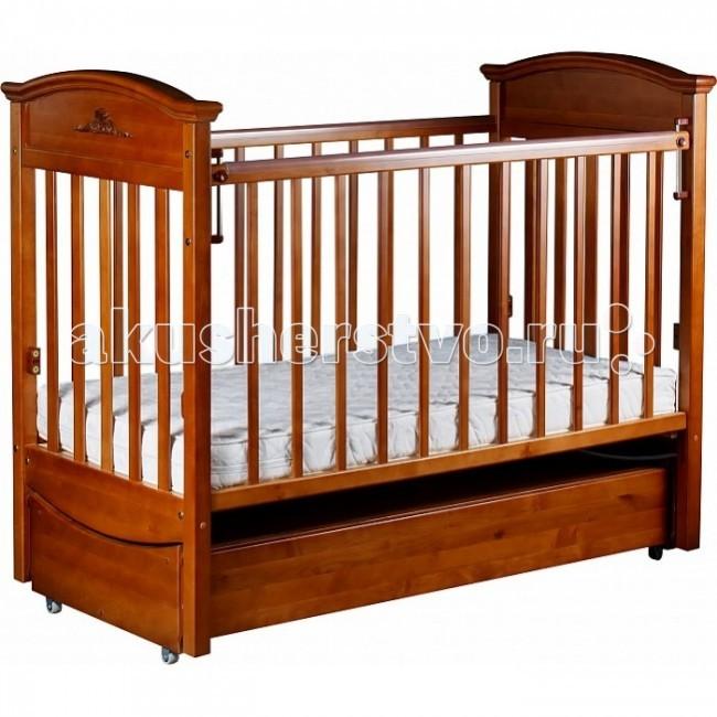 Детская кроватка Наполеон Vip (маятник продольный)