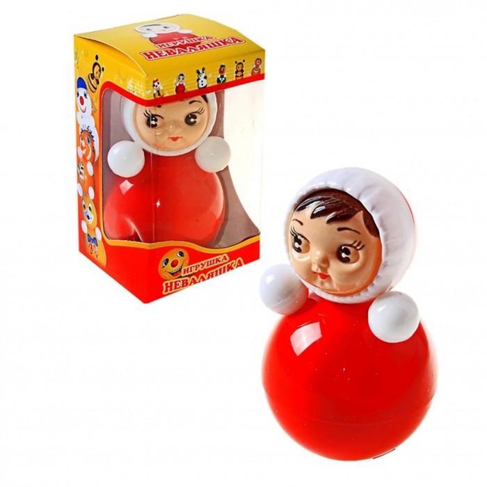 Развивающая игрушка Russia Неваляшка 15 смНеваляшка 15 смИгрушка неваляшка - одна из самых любимых игрушек малышей. Она совмещает в себе погремушку и устройство, благодаря которому неваляшка никогда не упадет.   Яркие цвета и удобная форма игрушки не оставят малыша равнодушным. Кроме того, неваляшка абсолютно безопасна даже для маленьких детей.   При раскачивании издает звук. Неваляшка - игрушка для развития у ребенка цветового, звукового и тактильного восприятия.  Она изготовлена из высококачественного российского пластика по строгим гигиеническим и санитарным нормам.   Высота неваляшки 15 см.   Неваляшка продается в цветной картонной подарочной упаковке.<br>