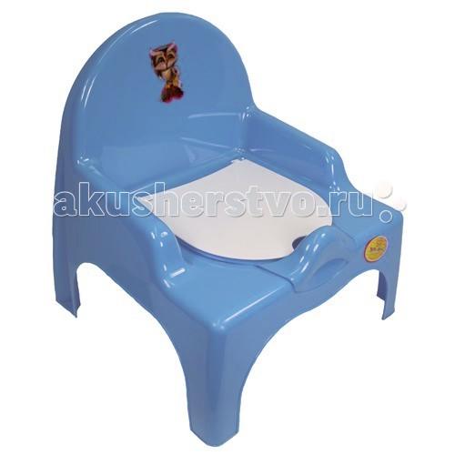 Горшок Russia стульчикстульчикСоответствует всем требованиям безопасности.  Достаточно устойчив, не опрокидывается.  Не производит аллергенного воздействия на кожу.  Может использоваться как мальчиками, так и девочками.  Материал: нетоксичный пластик.<br>