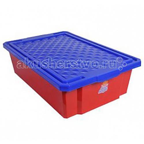 Little Angel Ящик для хранения игрушек 30 лЯщик для хранения игрушек 30 лЯщик для хранения игрушек средний LA1018  В этом ящике можно разместить все, что угодно: детские игрушки или одежду.   При необходимости его можно убрать под кровать или дополнить им интерьер детской комнаты. С нашим ящиком ребенка легко приучить к порядку.   Поверхность контейнера отличается высокой стойкостью к воздействию влаги и прямых солнечных лучей, что значительно увеличивает срок эксплуатации.  Изготовлен из экологически чистого пластика.  Оснащен роликами для удобства перемещения.  Размеры: Литраж 30 л Ширина 405 мм Длина 610 мм Высота 180 мм<br>