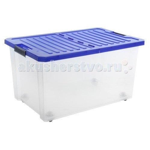 Russia Ящик для хранения игрушек Unibox 57 лЯщик для хранения игрушек Unibox 57 лЯщик для хранения игрушек Unibox 57 л  В этом ящике можно разместить все, что угодно: детские игрушки или одежду.   При необходимости его можно убрать под кровать или дополнить им интерьер детской комнаты. С нашим ящиком ребенка легко приучить к порядку.   Крышка с замком, роликовые колеса.  Изготовлен из экологически чистого пластика.  Размеры: Литраж 57 л Ширина 400 мм Длина 610 мм Высота 330 мм<br>