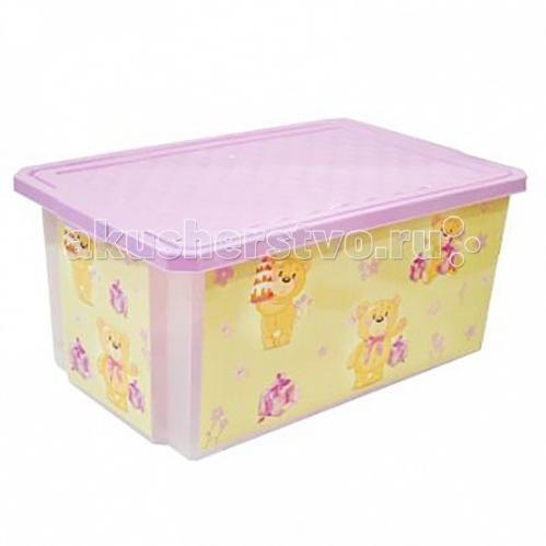Russia Ящик для хранения игрушек X-Box 30 лЯщик для хранения игрушек X-Box 30 лЯщик для хранения игрушек X-Box 30 л  В этом ящике можно разместить все, что угодно: детские игрушки или одежду.   При необходимости его можно убрать под кровать или дополнить им интерьер детской комнаты. С нашим ящиком ребенка легко приучить к порядку.   Универсальный ящик для хранения, декорированный с помощью технологии In Mould Labeling (IML). Теперь наш ящик - привлекательный элемент интерьера, а не просто функциональное изделие. Декор ящика износоустойчив, его можно мыть без опасения испортить рисунок.   Оснащен роликами для удобства перемещения.  Изготовлен из экологически чистого пластика.  Размеры: Литраж 30 л Ширина 405 мм Длина 610 мм Высота 190 мм<br>
