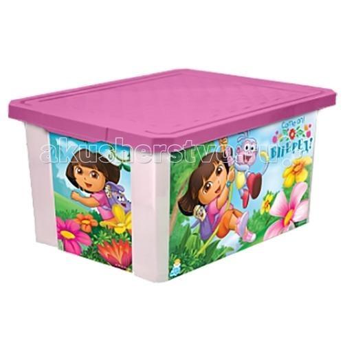 Little Angel Ящик для хранения игрушек X-Box Disney 12 лЯщик для хранения игрушек X-Box Disney 12 лЯщик для хранения игрушек X-Box 12 л  В этом ящике можно разместить все, что угодно: детские игрушки или одежду.   При необходимости его можно убрать под кровать или дополнить им интерьер детской комнаты. С нашим ящиком ребенка легко приучить к порядку.   Универсальный ящик для хранения, декорированный с помощью технологии In Mould Labeling (IML). Теперь наш ящик - привлекательный элемент интерьера, а не просто функциональное изделие. Декор ящика износоустойчив, его можно мыть без опасения испортить рисунок.   Изготовлен из экологически чистого пластика.  Размеры: Литраж 12 л Ширина 250 мм Длина 400 мм Высота 180 мм<br>
