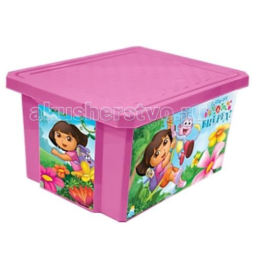 Little Angel Ящик для хранения игрушек X-Box Disney 17 л