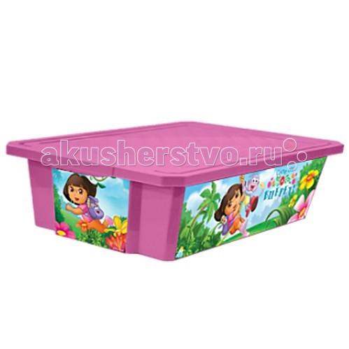 Little Angel Ящик для хранения игрушек X-Box Disney 30 лЯщик для хранения игрушек X-Box Disney 30 лЯщик для хранения игрушек X-Box 30 л  В этом ящике можно разместить все, что угодно: детские игрушки или одежду.   При необходимости его можно убрать под кровать или дополнить им интерьер детской комнаты. С нашим ящиком ребенка легко приучить к порядку.   Универсальный ящик для хранения, декорированный с помощью технологии In Mould Labeling (IML). Теперь наш ящик - привлекательный элемент интерьера, а не просто функциональное изделие. Декор ящика износоустойчив, его можно мыть без опасения испортить рисунок.   Оснащен роликами для удобства перемещения.  Изготовлен из экологически чистого пластика.  Размеры: Литраж 30 л Ширина 405 мм Длина 610 мм Высота 190 мм<br>