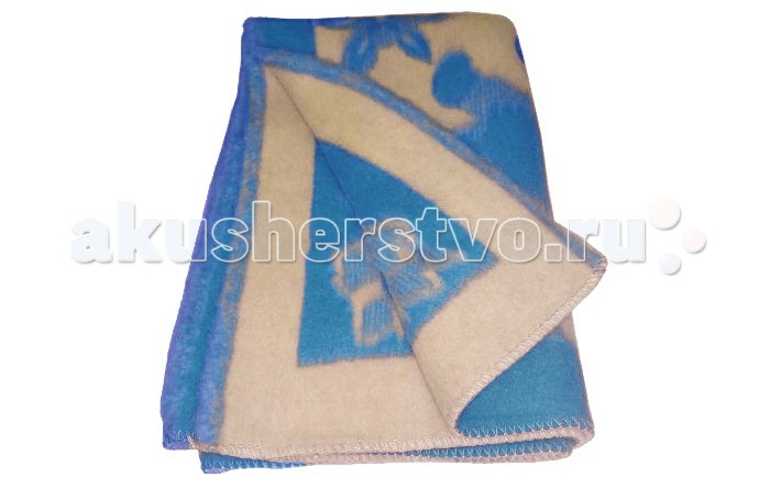 Одеяло Папитто жаккардовое 100х140 шерсть