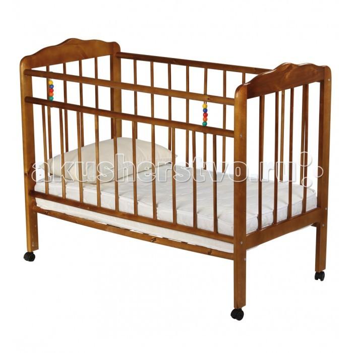 Детская кроватка Russia Женечка-1 (колесо)