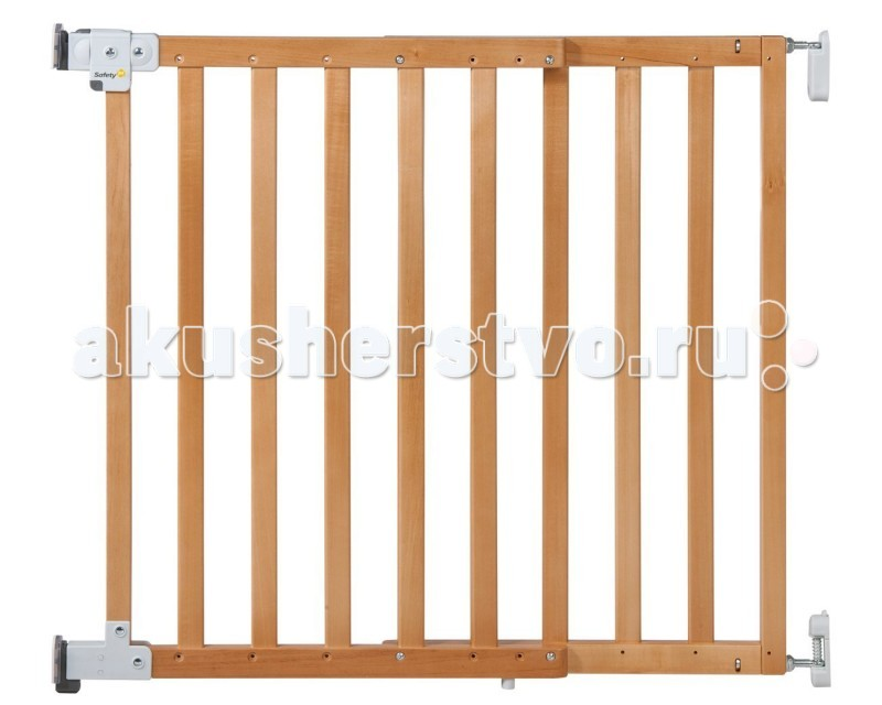 Safety 1st ������ ������������ Wall Fix wooden extending gate 63-104 ��