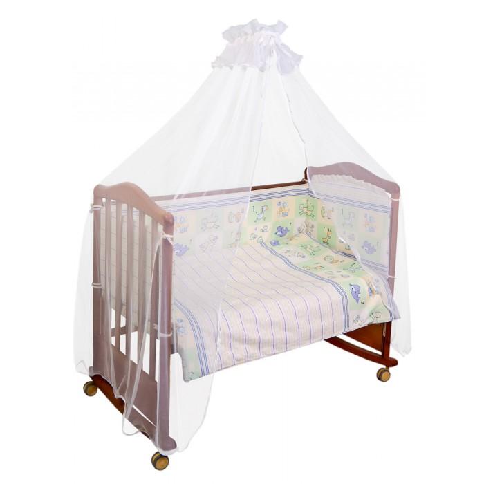Бампер для кроватки Сонный гномик СчиталочкаСчиталочкаБампер Сонный гномик Считалочка высокий бортик для кроватки по всему периметру подарит вашему ребенку здоровый и безопасный сон , и станет прекрасным украшением детской.  бортик из 4х частей, высотой 35 см, по всему периметру кроватки состав ткани: нежная бязь из самой тонкой нити,100% хлопок безупречной выделки ткань с авторским рисунком деликатные швы, рассчитанные на прикосновение к нежной коже ребёнка наполнитель ХоллКон плотностью  для кроватки размером 120х60 см<br>