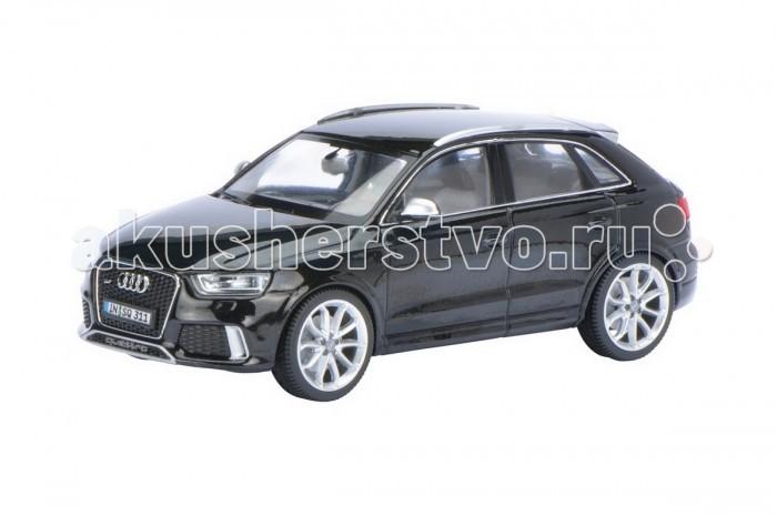 Schuco Автомобиль Audi RS Q3 1:43Автомобиль Audi RS Q3 1:43Schuco Автомобиль Audi RS Q3 1:43 представляет собой масштабную копию настоящего автомобиля.  Особенности: Он выполнен из высококачественного пластика и металла — материалов, чье удачное сочетание позволило добиться не только предельной прочности игрушки, но и ее отличной детализации.  Машинка способна двигаться в переднем направлении. Для этого его следует отвести немного назад, а затем резко отпустить. В этом случае сработает фрикционный механизм и машинка поедет вперед.<br>