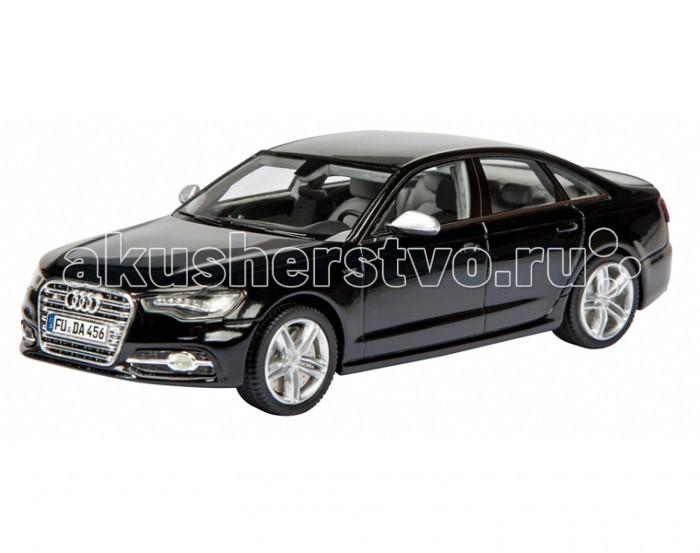Schuco Автомобиль Audi S6 Limousine 1:43Автомобиль Audi S6 Limousine 1:43Schuco Автомобиль Audi S6 Limousine 1:43 представляет собой масштабную копию настоящего автомобиля.  Особенности: Он выполнен из высококачественного пластика и металла — материалов, чье удачное сочетание позволило добиться не только предельной прочности игрушки, но и ее отличной детализации.  Машинка способна двигаться в переднем направлении. Для этого его следует отвести немного назад, а затем резко отпустить. В этом случае сработает фрикционный механизм и машинка поедет вперед.<br>