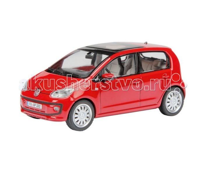 Schuco Автомобиль VW up 4-door vers 1:43Автомобиль VW up 4-door vers 1:43Schuco Автомобиль VW up 4-door vers 1:43 представляет собой масштабную копию настоящего автомобиля.  Особенности: Он выполнен из высококачественного пластика и металла — материалов, чье удачное сочетание позволило добиться не только предельной прочности игрушки, но и ее отличной детализации.  Машинка способна двигаться в переднем направлении. Для этого его следует отвести немного назад, а затем резко отпустить. В этом случае сработает фрикционный механизм и машинка поедет вперед.<br>