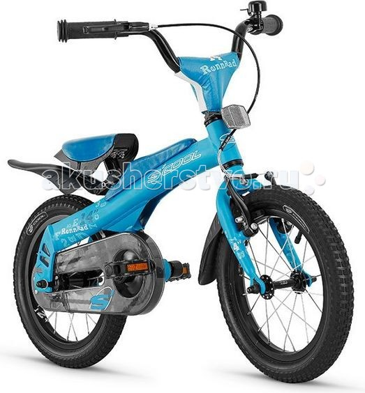 Велосипед двухколесный Scool 2 в 1 Rennrad 14