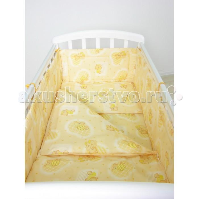 Комплект для кроватки Фея Мишки (7 предметов)
