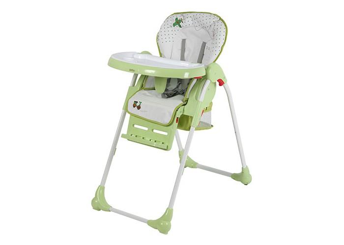 Стульчик для кормления Selby ВН-435ВН-435Стульчик для кормления Selby BH-435 - удобный вариант для кормления малышей.   Предназначен для детей в возрасте от 6 мес. до 3-х лет. Мягкое и удобное сидение изготовлено из безопасных и легко чистящихся материалов.  Для предотвращения падения ребенка со стула, он оборудован регулируемым 5-ти точечным ремнем. Складная конструкция модели позволит с удобством перемещать стульчик в помещении.    Преимущества: эргономичная конструкция спинки 5-ти точечный ремень безопасности компактно складывается съемный поднос с углублением для посуды корзина для игрушек съемное моющееся сидение 4 положения сидения 3 положения опоры для ног  Габариты изделия: 102 х 50 х 85 см. Вес: 8.7 кг<br>