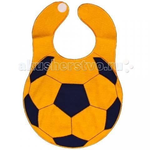 Нагрудник Sevi Baby на липучке Футбольный мяч