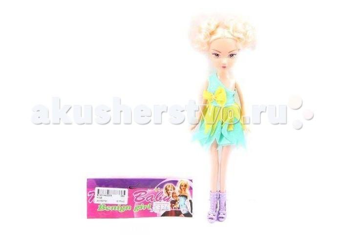 Shantou Gepai Кукла Крутая девчонка 29 смКукла Крутая девчонка 29 смКукла Крутая девчонка представляет собой стильную девушку с красивыми волосами.   У этой модницы практически все подобрано в одной цветовой гамме.   У куколки яркий наряд, будто она собралась на веселую вечеринку.  Высота куклы - 29 см.<br>