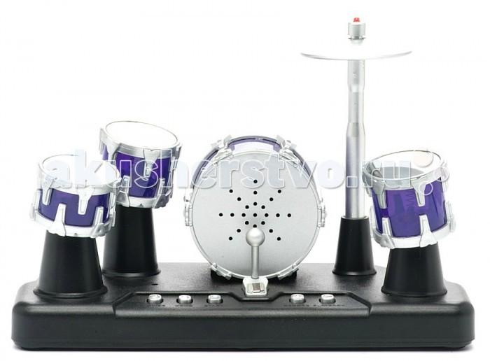 Музыкальная игрушка Shantou Gepai Сенсорная барабанная установка Барабанный ритм (свет, запись звука)