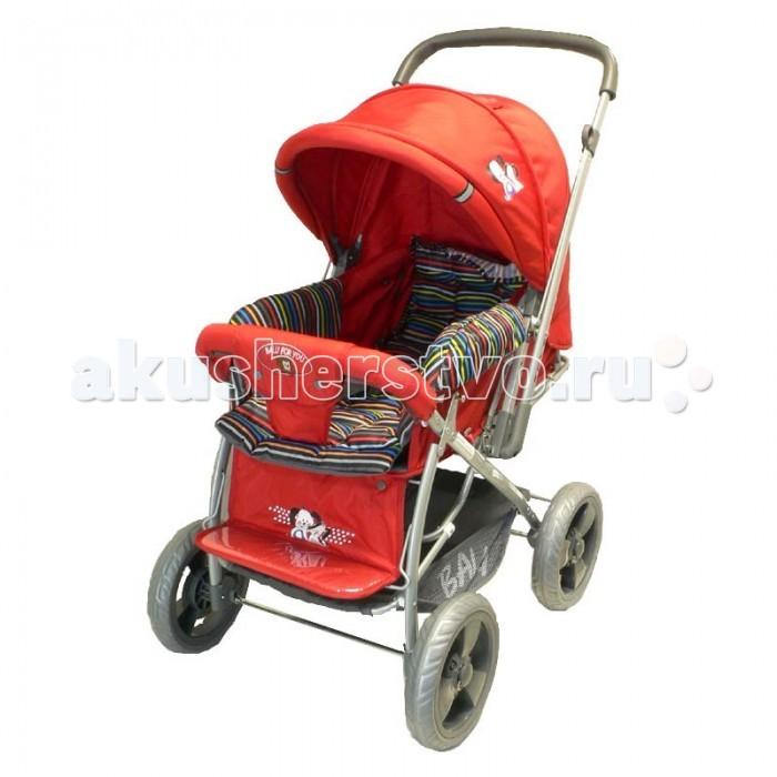Прогулочная коляска Shenma Super Balu H-404-9Super Balu H-404-9Универсальная прогулочная коляска Shenma Balu H-404-9 предназначена для детей до 3х лет. Три положения спинки и поднимаемая в горизонтальное положение подножка с упором для ножек, позволяют ребенку не только сидеть в коляске, но и уютно спать.  Характеристики: 4 колеса диаметром 24 см перекидная ручка капюшон с дополнительным сегментом на молнии рисунок на капюшоне и на подножке три положения спинки регулируемая по высоте подножка  В комплекте: накидка на ножки, матрасик ремни безопасности корзина для покупок  Размеры: внутренний: 75х32 см внешний: 76х37 см  Вес: 10.5 кг<br>