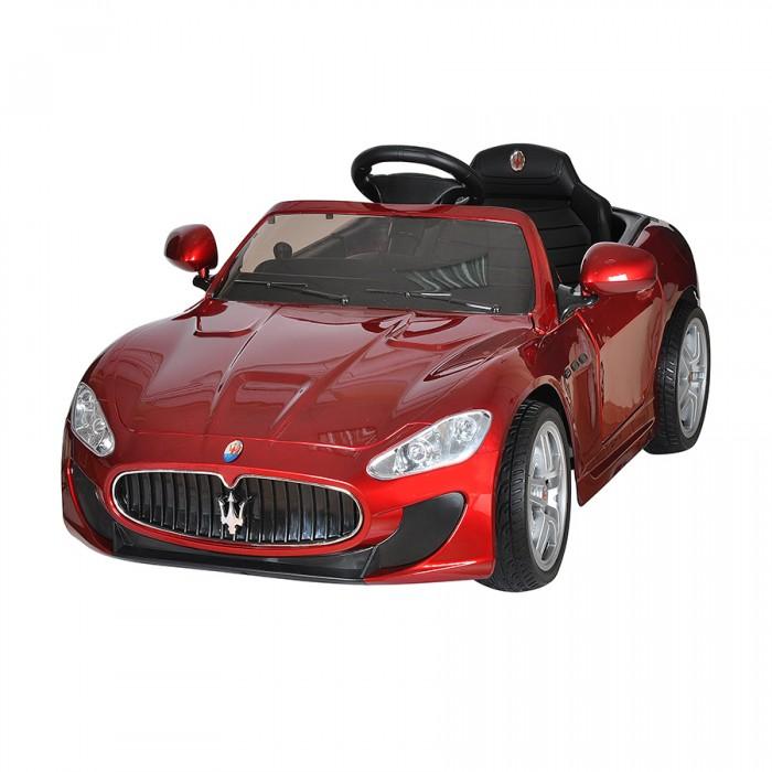 Электромобиль Shine Ring Maserati Quattroporte 12V/7AhMaserati Quattroporte 12V/7AhShine Ring Электромобиль Maserati Quattroporte 12V/7Ah SR6388  Детский лицензионный электромобиль на аккумуляторе Maserati - шикарный седан, выполненный по лицензии официальной компании. В точности повторяющий линии кузова и брендовый почерк настоящего авто. Выдерживает нагрузку до 40 кг.   Электромобиль для детей Maserati (Мазерати) имеет встроенный MP3 плеер с разъемом под внешний носитель и AUX. Головная оптика и задние фонари светятся, имеется эффектная подсветка днища.  Двери детского автомобиля Maserati открываются и оборудованы замками. Благодаря этому, малыш без труда разместится в салоне.  Электромобиль имеет два мощных двигателя установленных на задней оси, которые обеспечивают плавный старт спорткара. Корпус выполнен из прочного пластика. Подвеска оснащена амортизаторами, колесами с мягкими резиновыми покрышками eva и хромированными дисками. Что обеспечивает комфортное передвижение.  Отдельного внимания заслуживает пульт дистанционного управления, он является неотъемлемой частью электромобиля и обеспечит безопасность передвижения вашего малыша. Maserati оснащен bluetooth пультом с родительским контролем. Пока ваш малыш еще мал и не в силах управлять своим автомобилем, взять управление на себя могут родители. В ваших руках будет не только стандартный набор органов управления, но и возможность регулировки скорости и полной остановки авто. По мере взросления юного водителя можно постепенно передавать ему управление электромобилем, но с помощью функции родительского контроля вы всегда сможете скорректировать траекторию движения, снизить скорость или полностью остановить внедорожник даже если в этот момент им управляет ваш малыш.  Характеристики: Возрастная группа: 1-6 лет Максимальный вес ребенка: 40 кг Количество мест: 1 Количество двигателей: 2 Максимальная скорость: 7 км/ч Материал колес: Резина Амортизаторы: Есть Тормозная система: Торможение двигателем Количество скоростей