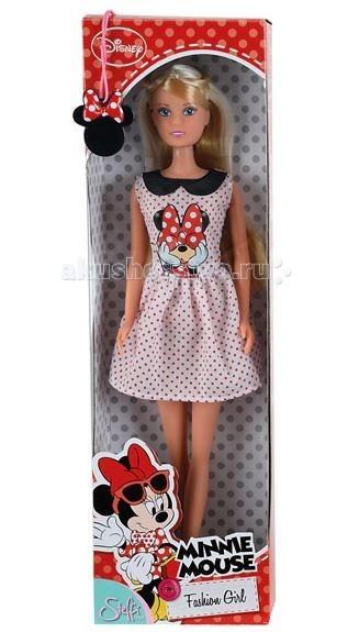 Simba Кукла Штеффи Minnie Mouse городской стиль